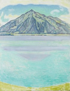 ⑨《トゥーン湖とニーセン山》