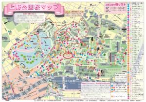 さくらマップ(基準木)