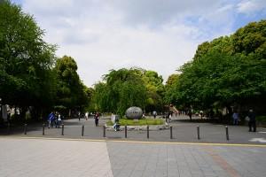上野公園山下袴腰広場