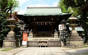 五條天神社社殿