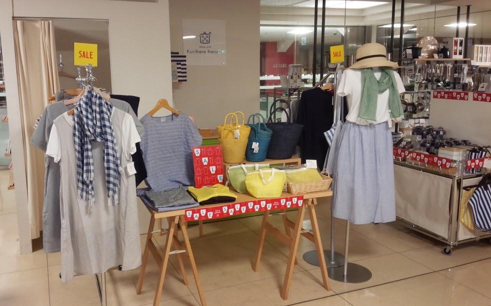 松坂屋上野店ではウェアも豊富に揃えていますよ!