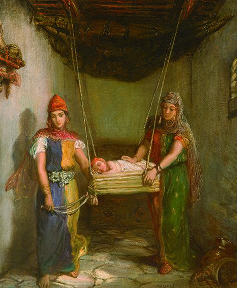 【《コンスタンティーヌのユダヤ人街の情景》1851年 メトロポリタン美術館 Image copyright©The Metropolitan Museum of Art. Image source: Art Resource, NY】