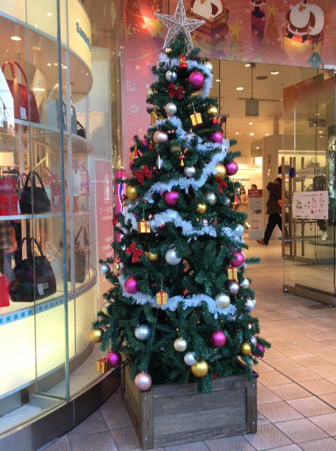 上野マルイ、マルイ、クリスマス、クリスマスツリー
