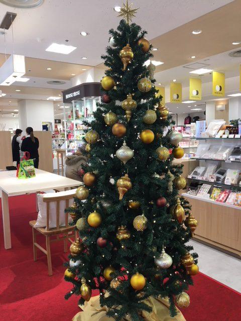 クリスマスツリー、上野HA・NA・RE、クリスマス