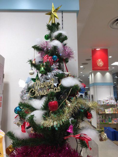 クリスマスツリー、松坂屋上野店、おもちゃ売場