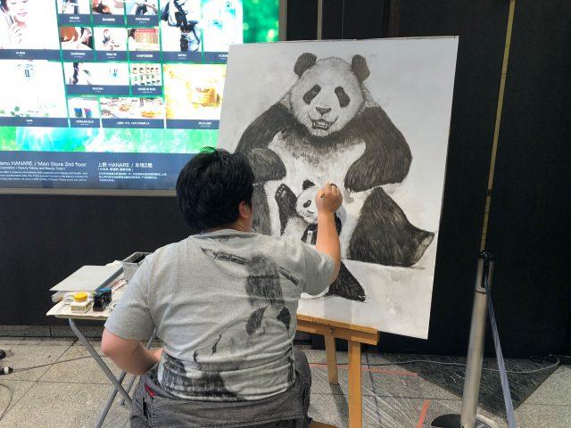 動物墨絵師、佐藤周作